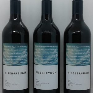 Riseborough Shiraz 2005 x 12